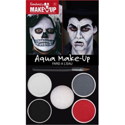 Aqua Make Up Picture Pack Dracula/Death, set machiaj 4 culori