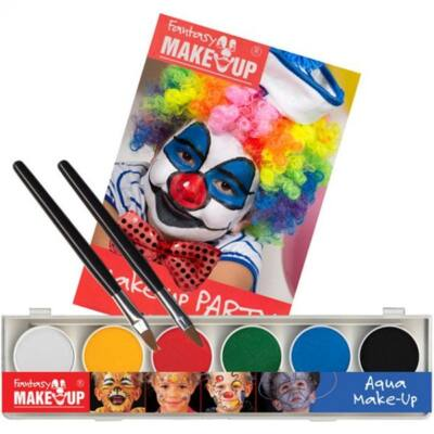 Aqua Make Up PaintBox, set machiaj 6 culori
