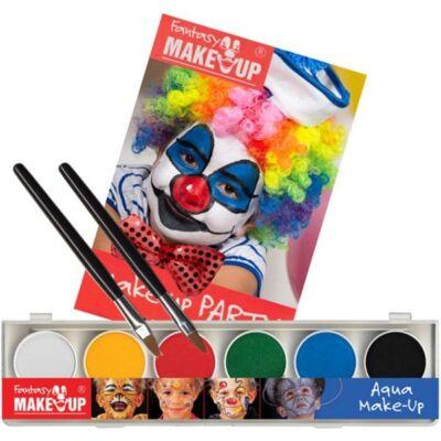 Aqua Make Up PaintBox, set machiaj 6 culori