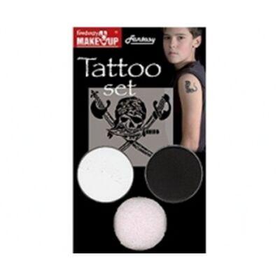 Tattoo Butterfly, set machiaj pentru tatuaje temporare