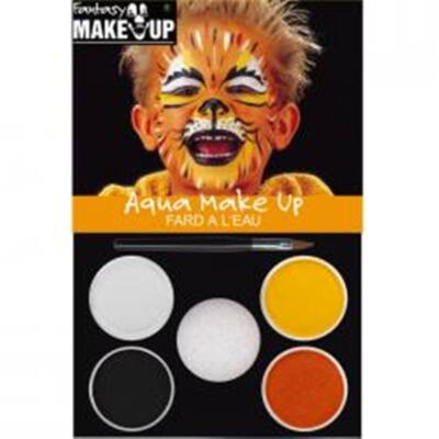 Aqua Make Up Picture Pack Tiger set machiaj 4 culori