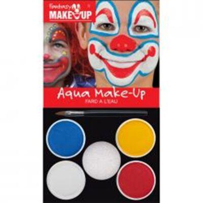Aqua Make Up Clown Pack, set machiaj 4 culori