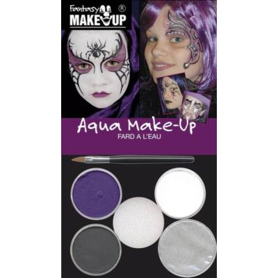 Aqua Make Up Magic Witch, set machiaj Halloween 4 culori