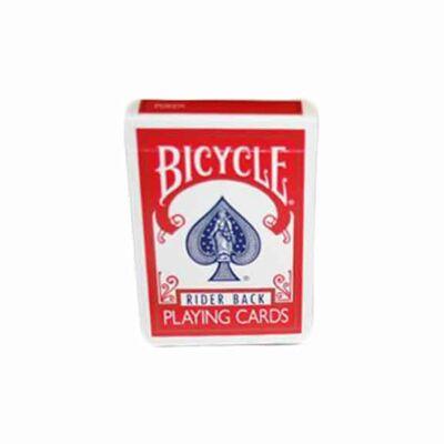 Carti de Joc Bicycle - Magic Double Back - Rosu/ Albastru