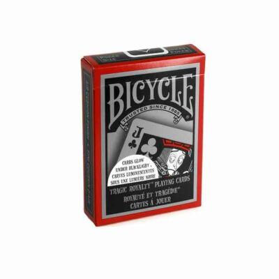 Carti de Joc Bicycle - Tragic Royalty - Fosforescente