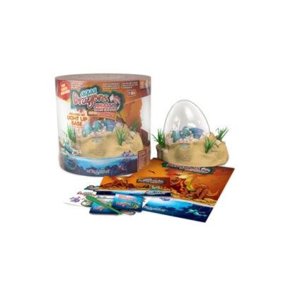 Set Aqua Dragons - acvariu in forma de ou, hrana, oua, lingurita