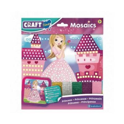 Kit Mozaic Mini Printesa - Brainstorm