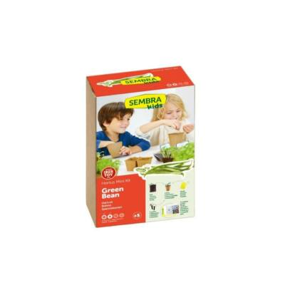 Kit de gradinarit mini - Fasole verde - Sembra
