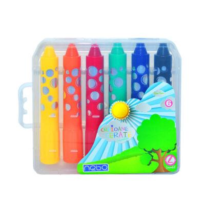 Set creioane cerate Jumbo- 6 buc