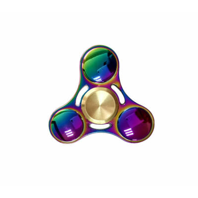 Fidget Spinner Super 360 Rainbow Steel