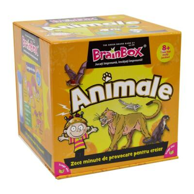 Joc de societate Brainbox - Animale