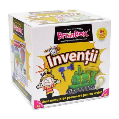 Joc de societate Brainbox - Inventii
