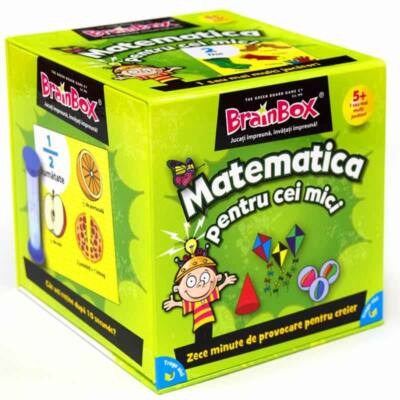 Joc de societate Brainbox - Matematica pentru cei mici
