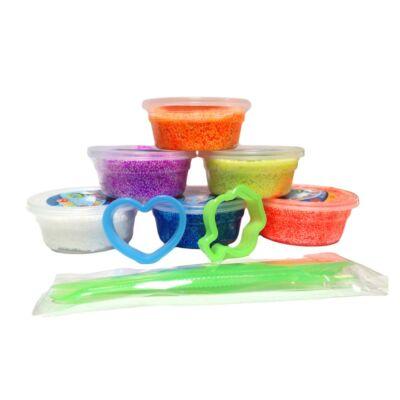 Set Slime Gelatina colorata cu bilute - 6 buc