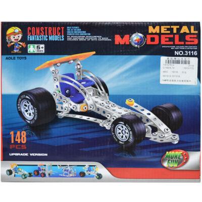 Metal models, constructii masinute din metal - 152 piese