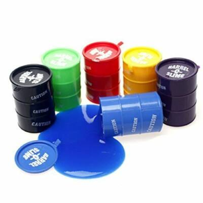 Barrel O Slime original - gelatina colorata la pahar, set 6 bucati