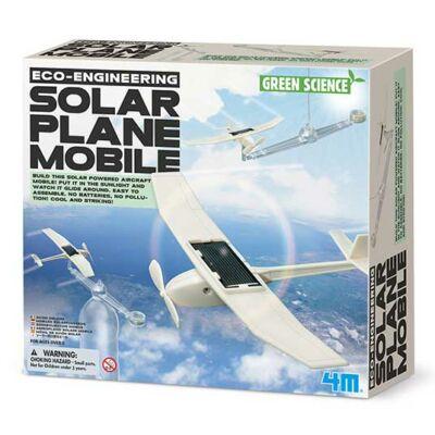 Kit jucarii eco - Avion solar - 4M