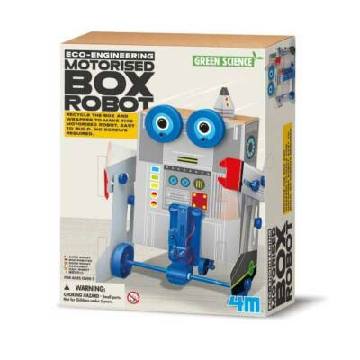 Kit jucarii eco - Robotelul cutie - 4M