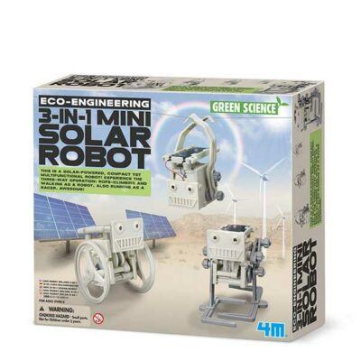 Kit jucarii eco - Robot solar 3 in 1 - 4M