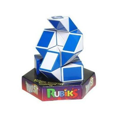 Puzzle Rubik Twist – alb-albastru