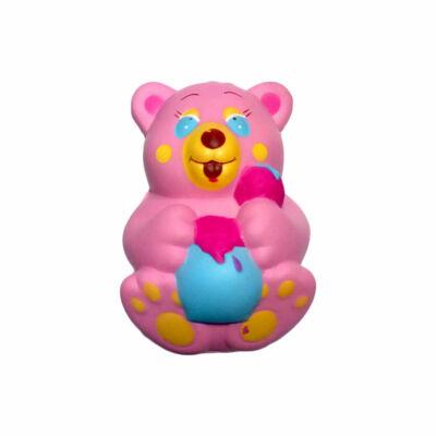 Jucarie Squishy - Ursulet roz