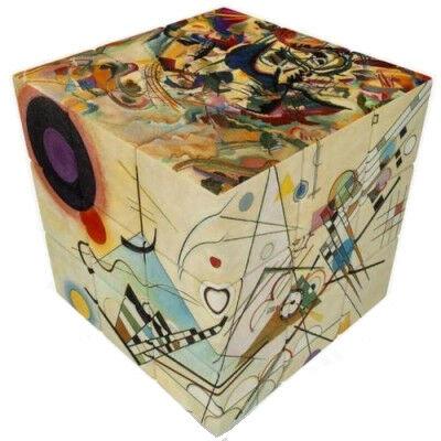 V-Cube 3x3 - Kandinsky