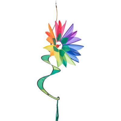 Morisca de vant - Swinging Flower Rainbow