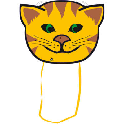 Zmeu Invento Animal Sled Kitty - pisica