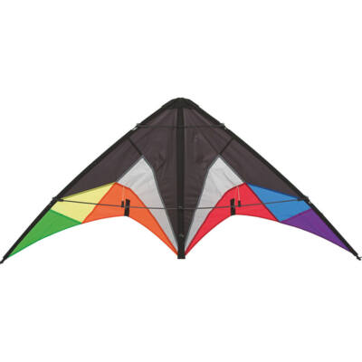 Zmeu Invento Sportkite Quickstep II - Black Rainbow