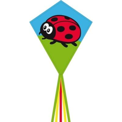 Zmeu Invento Eco Line Eddy Ladybug buburuza 70 cm