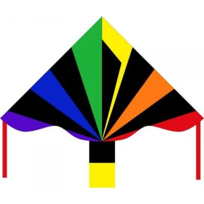Zmeu Invento Eco Line Simple Flyer Black Rainbow - 120 cm