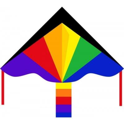 Zmeu Invento Eco Line Simple Flyer Rainbow - curcubeu - 120 cm