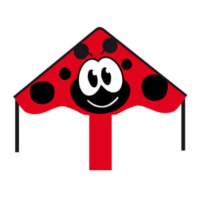 Zmeu Invento Ecoline Simple Flyer Ladybug 85 cm