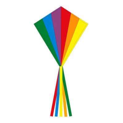 Zmeu Invento Ecoline Eddy Rainbow 70cm