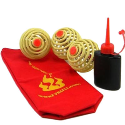 Set mingi de jonglat cu foc Fyrefli - 68 mm