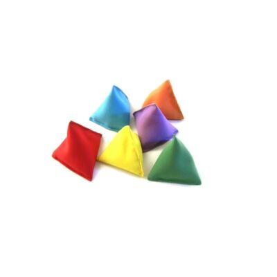 Set 3 saculeti de jonglat Bravo multicolor
