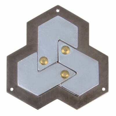 Hanayama Cast Puzzle - Hexagon