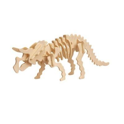 Puzzle 3D Dinozaur Triceratops