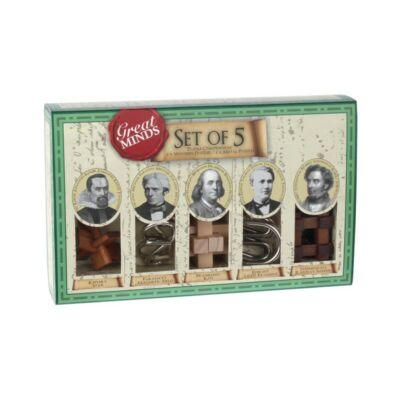 Professor Puzzle Great Minds -  set 5