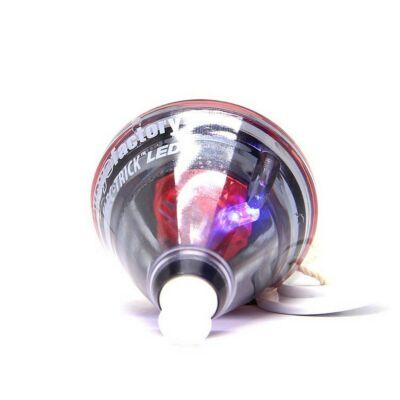 Yoyofactory Elec-Trick Spin Top - transparent cu LED-uri